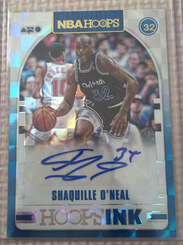 18 19 Hoops Shaquille O'neal サイン
