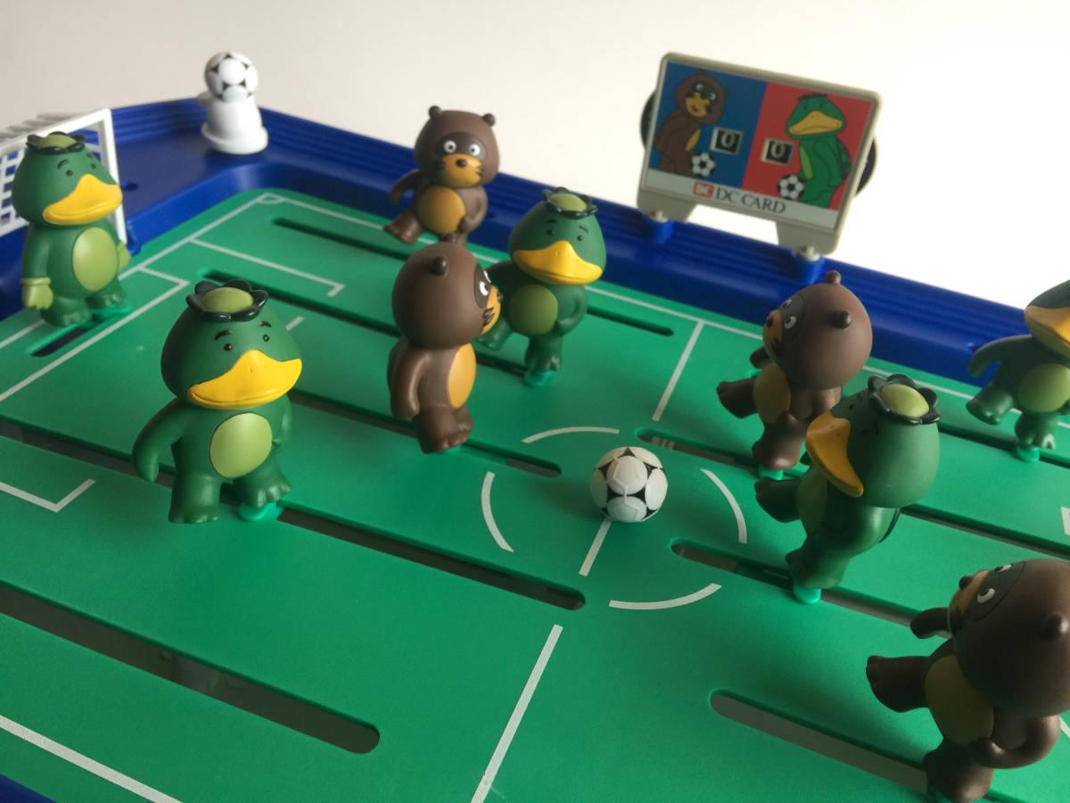 【DCカードカッパ たぬき】 たぬキック&サッカッパーゲーム 【DC CARD カッパたぬき サッカーゲーム】