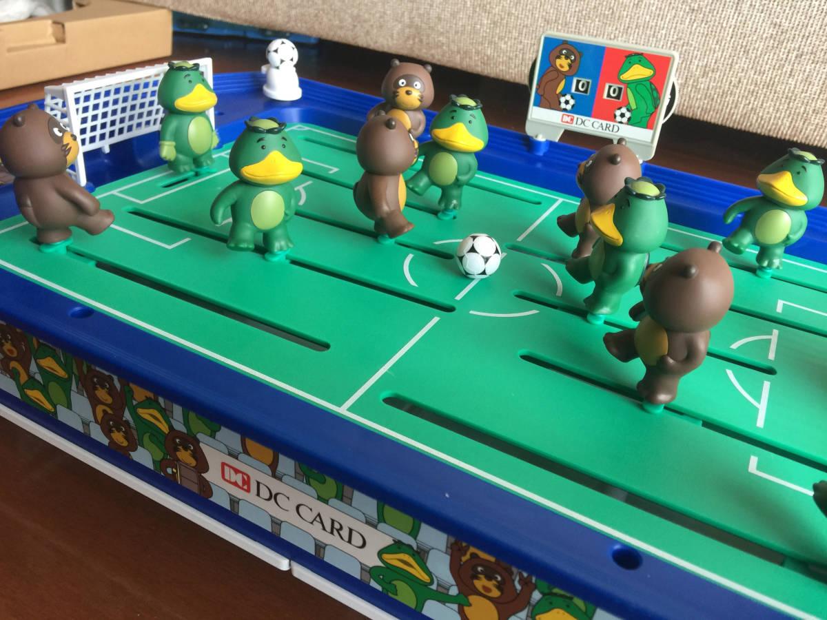 【DCカードカッパ たぬき】 たぬキック&サッカッパーゲーム 【DC CARD カッパたぬき サッカーゲーム】_画像10
