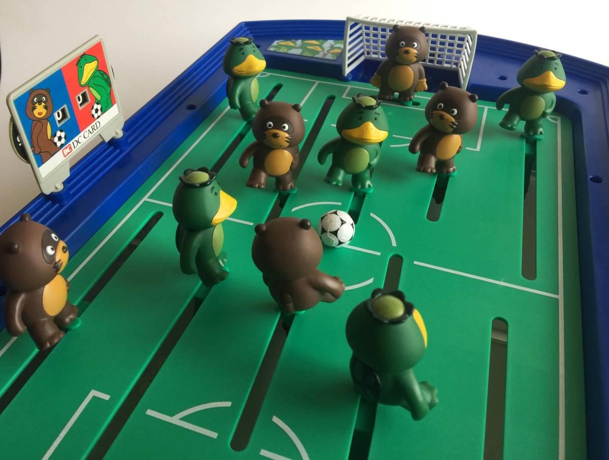 【DCカードカッパ たぬき】 たぬキック&サッカッパーゲーム 【DC CARD カッパたぬき サッカーゲーム】_画像3