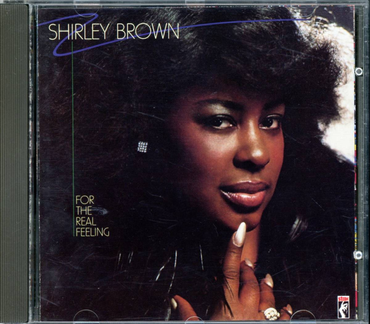ソウル■SHIRLEY BROWN / For The Real Feeling (1979) 廃盤 David Porter制作 Stax
