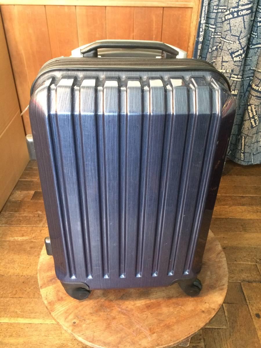 フィールドギア スーツケース ネイビー キャリーケース トラベルバッグ トランク 旅行用