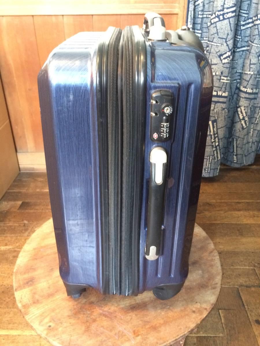 フィールドギア スーツケース ネイビー キャリーケース トラベルバッグ トランク 旅行用 _画像2