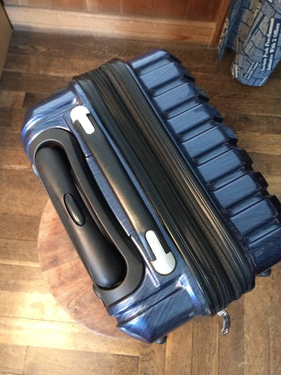 フィールドギア スーツケース ネイビー キャリーケース トラベルバッグ トランク 旅行用 _画像3