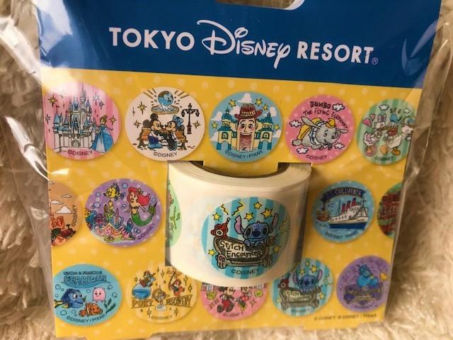 ★TDR 東京ディズニーリゾート 35周年 手書きシリーズ シール(180枚)未使用品★_画像2
