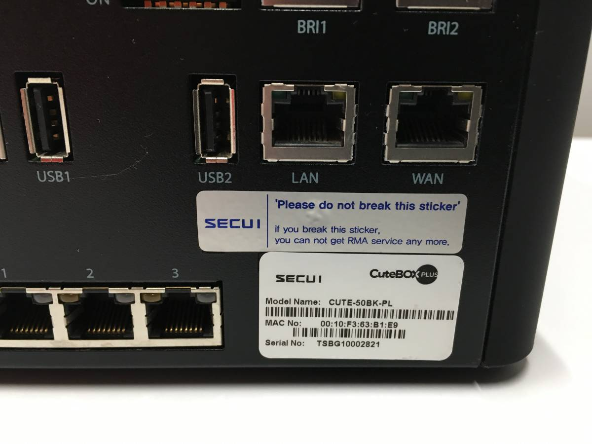 A12543)SECUI CuteBOX PLUS CUTE-50BK-PL 中古_画像4