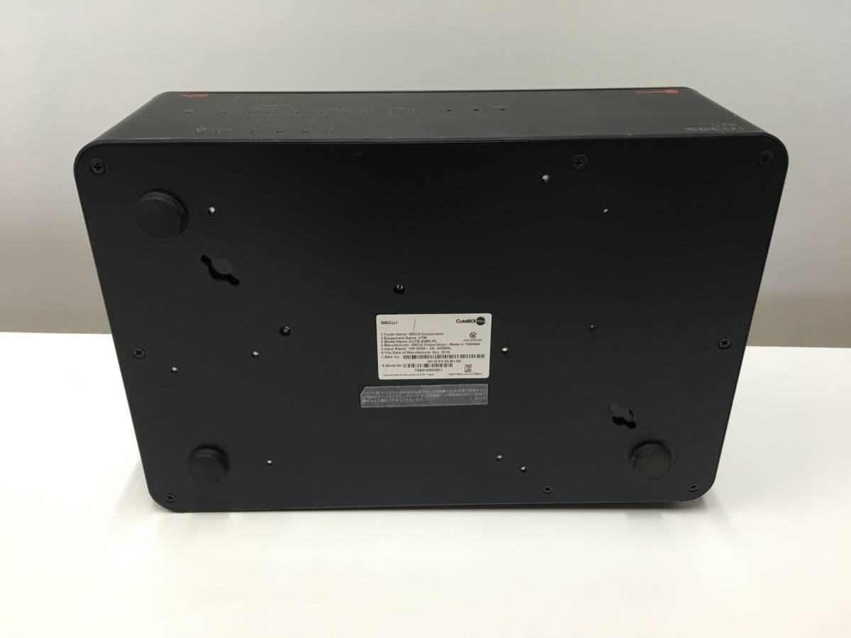 A12543)SECUI CuteBOX PLUS CUTE-50BK-PL 中古_画像5