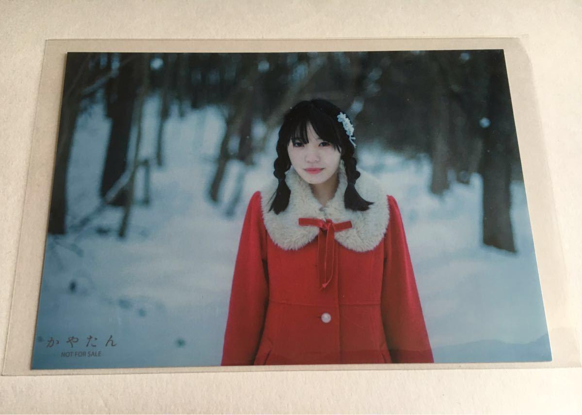奥野香耶 1stフォトブック 写真集 かやたん わぐらぶ購入特典 ブロマイド B Wake Up, Girls! 声優_画像1