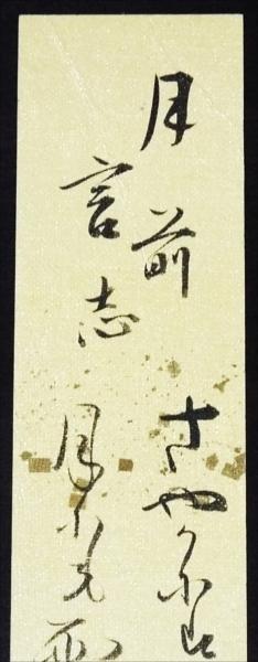 ☆☆短冊・石原純章・和歌・歌人・彦根藩医・近江犬山☆2950_画像2