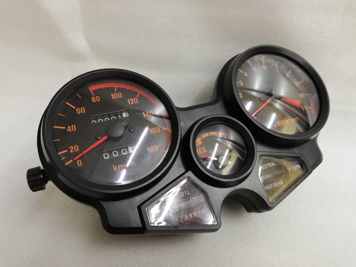送料無料 CBX400F メーター ASSY/新品 1型 2型 NC07 CBX550F メーターケース 純正 リプロ スピードメーター 本体 ユニットNC07 外装_画像1