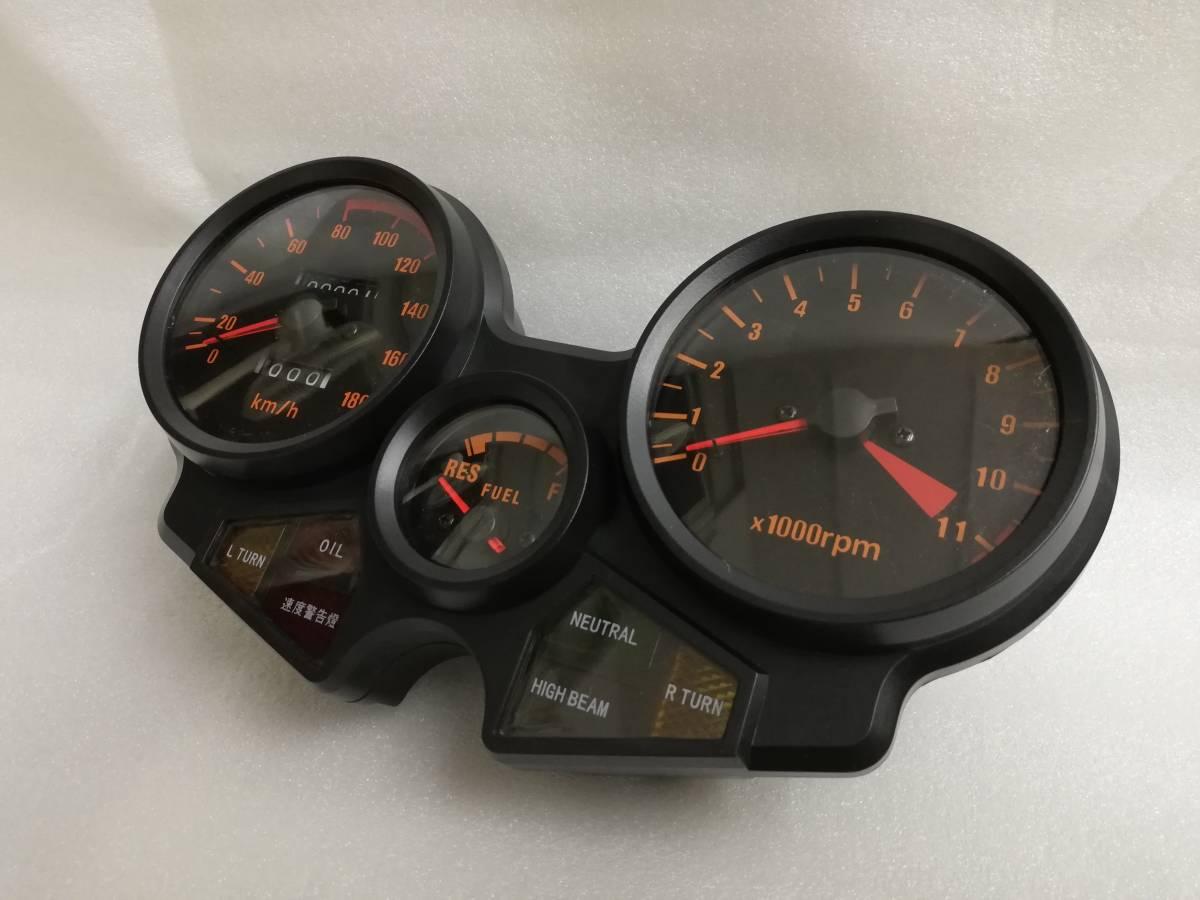 送料無料 CBX400F メーター ASSY/新品 1型 2型 NC07 CBX550F メーターケース 純正 リプロ スピードメーター 本体 ユニットNC07 外装_画像2
