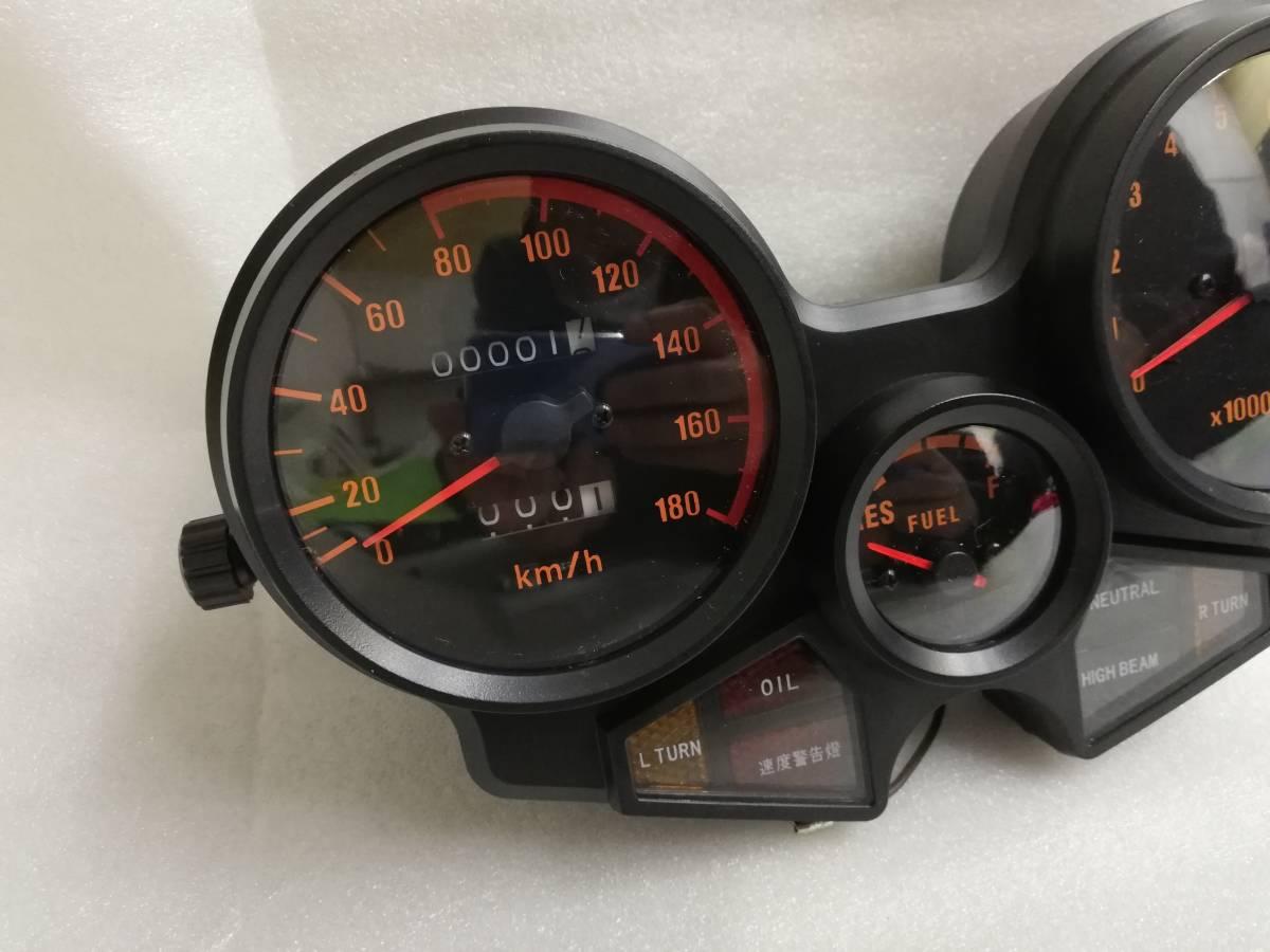 送料無料 CBX400F メーター ASSY/新品 1型 2型 NC07 CBX550F メーターケース 純正 リプロ スピードメーター 本体 ユニットNC07 外装_画像6