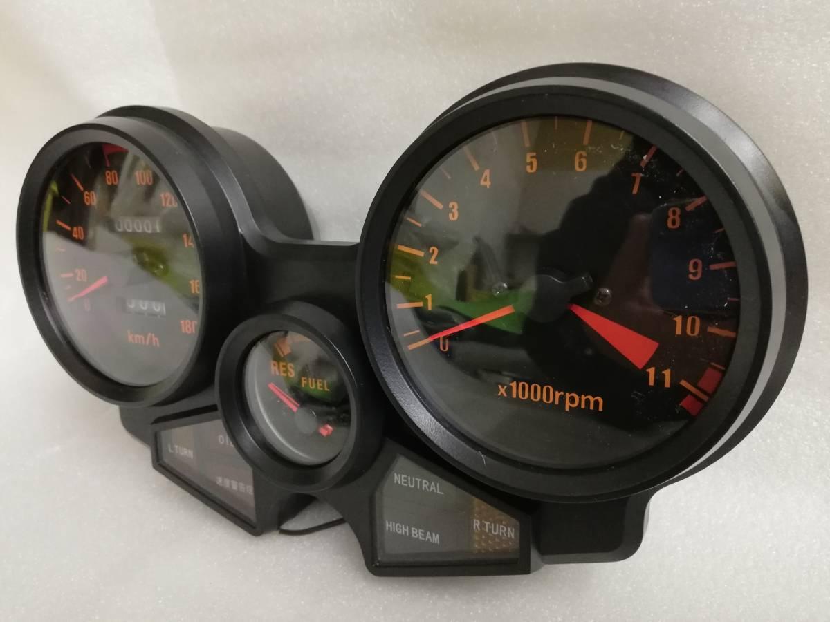 送料無料 CBX400F メーター ASSY/新品 1型 2型 NC07 CBX550F メーターケース 純正 リプロ スピードメーター 本体 ユニットNC07 外装_画像7