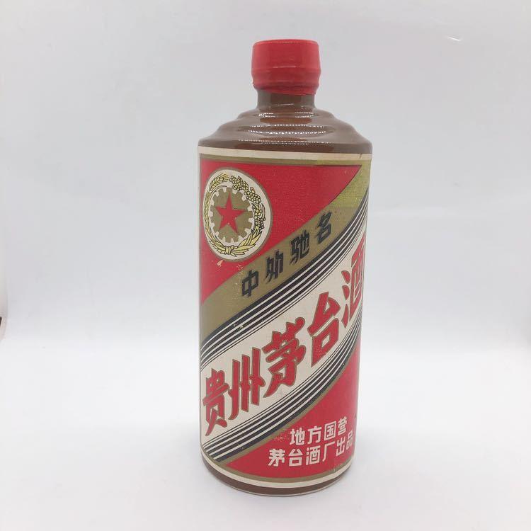 未開栓 貴州茅台酒 マオタイ酒 茶色ボトル 1986年 958g 中国酒 R阿0318