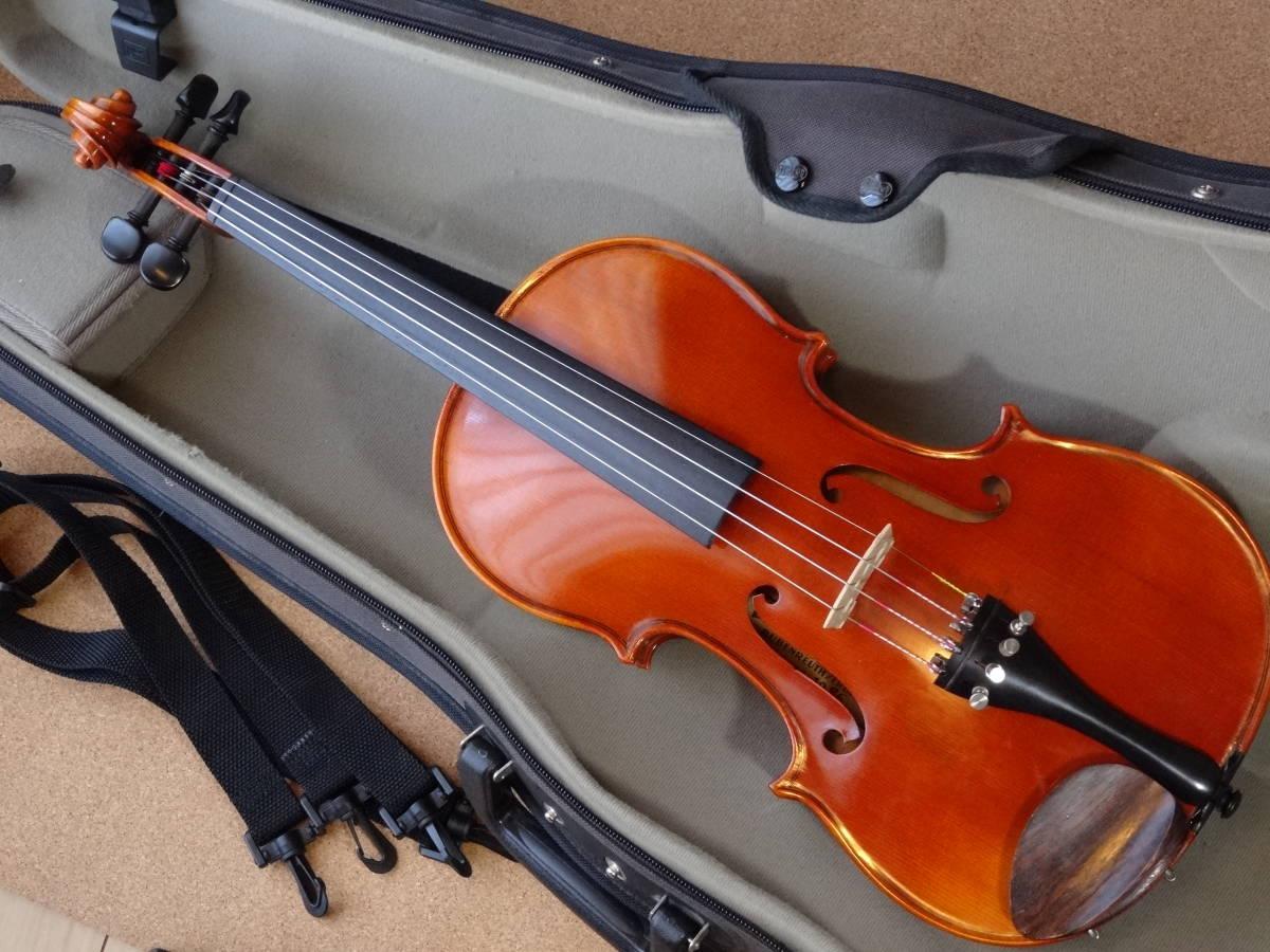 ROTH Ernst Heinrich 1986年製 品番 #52 フルサイズ ジャーマン バイオリン_画像10