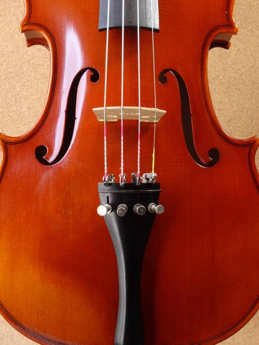 ROTH Ernst Heinrich 1986年製 品番 #52 フルサイズ ジャーマン バイオリン_画像2