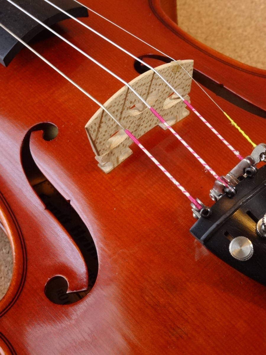 ROTH Ernst Heinrich 1986年製 品番 #52 フルサイズ ジャーマン バイオリン_画像7