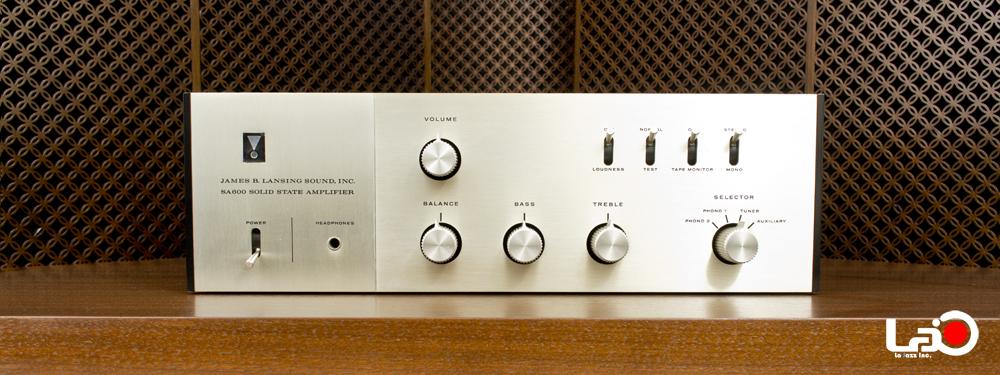 令和キャンペーン・美品 | JBL | SA600 | Solid State Amplifier | ステレオ・プリメインアンプ |