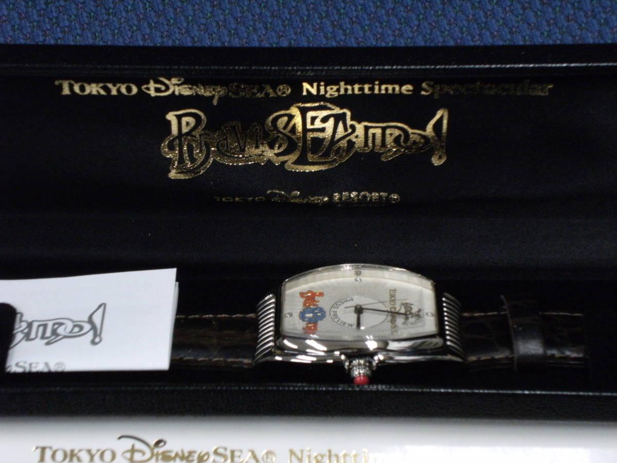 値下げしました! 〈非売品・未使用〉ディズニーシー 「ブラヴィッシーモ」腕時計_画像3