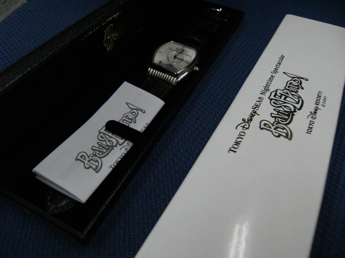値下げしました! 〈非売品・未使用〉ディズニーシー 「ブラヴィッシーモ」腕時計_画像8