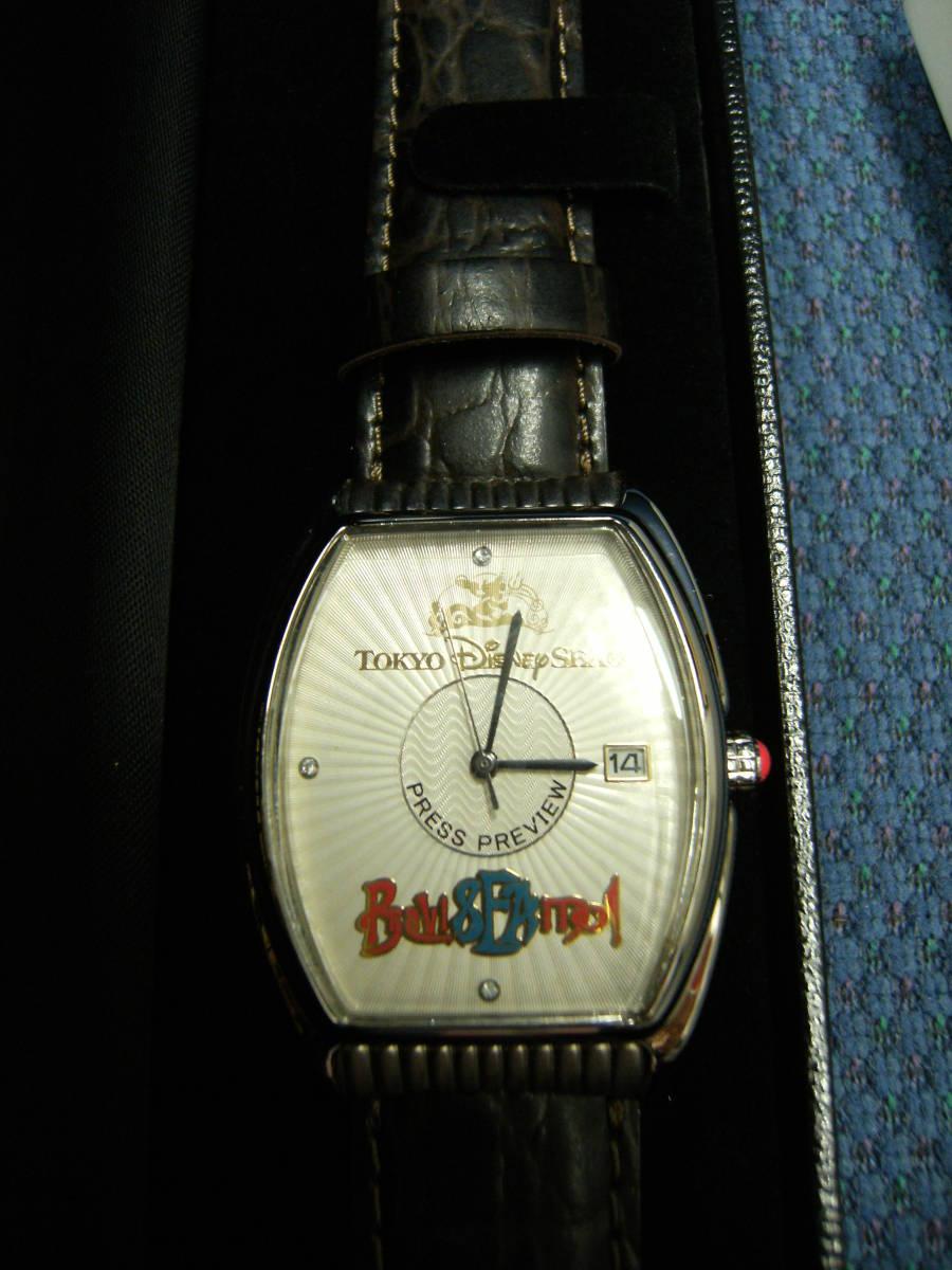 値下げしました! 〈非売品・未使用〉ディズニーシー 「ブラヴィッシーモ」腕時計_画像2