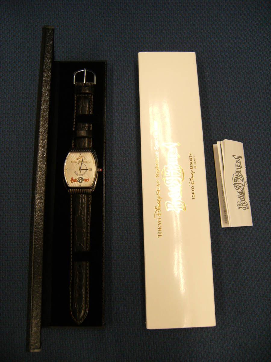 値下げしました! 〈非売品・未使用〉ディズニーシー 「ブラヴィッシーモ」腕時計_画像7