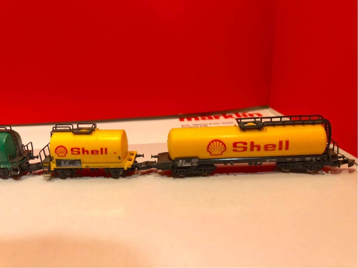 MARKLIN Z メルクリン タンク 貨車 5両セット シェル shell エッソ esso BP 送料無料!_画像2