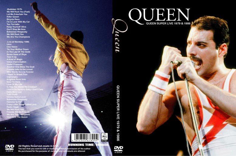QUEEN ライヴ Budokan 1979 & Wembley 1986 フレディ・マーキュリー クィーン