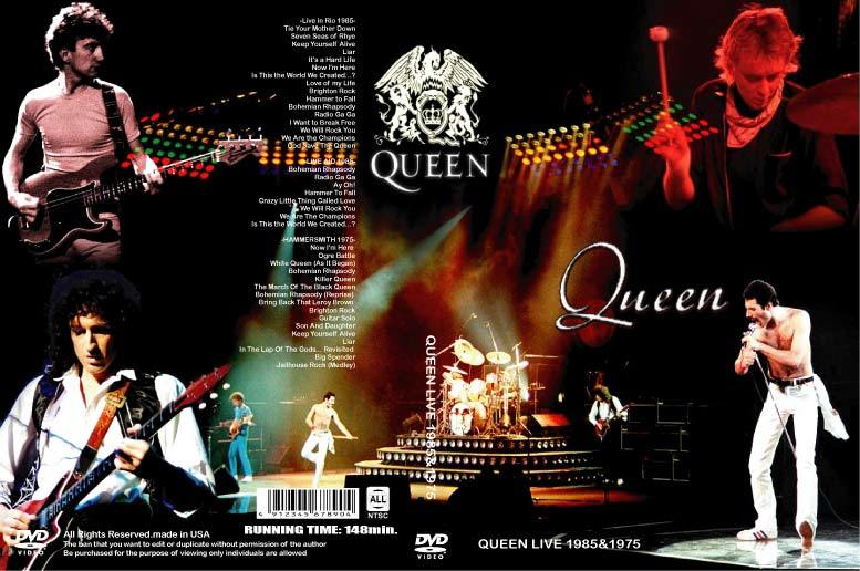QUEEN ライヴ LIVE 1975 & 1985 3ライヴ!フレディ・マーキュリー クィーン_画像1