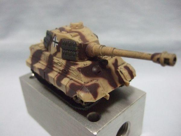 海洋堂 『ワールドタンクデフォルメ2 ティーガーII型重戦車(2色迷彩)』 _画像5