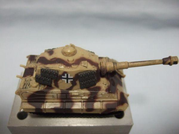 海洋堂 『ワールドタンクデフォルメ2 ティーガーII型重戦車(2色迷彩)』 _画像6