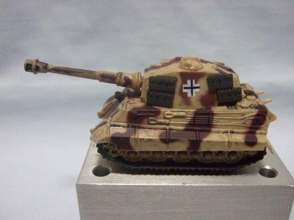 海洋堂 『ワールドタンクデフォルメ2 ティーガーII型重戦車(2色迷彩)』 _画像2