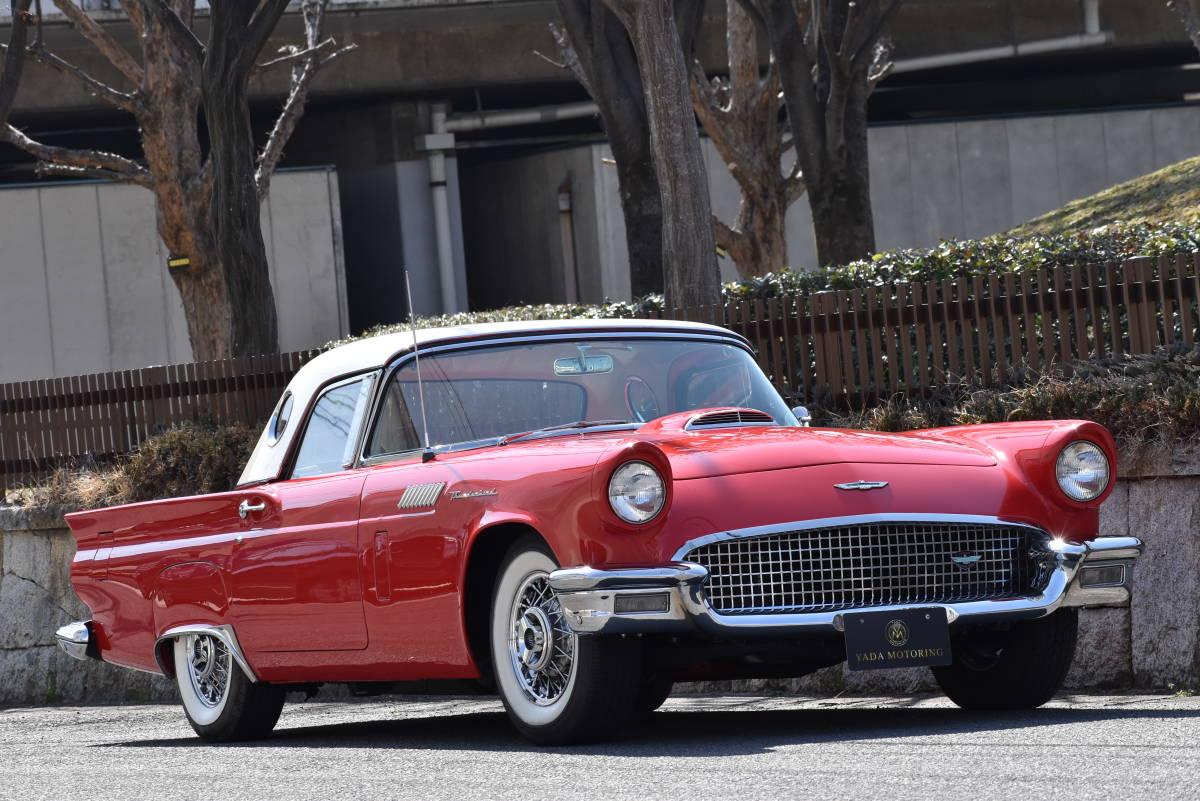 【奇跡の1台】 1957y フォード サンダーバード 初代 フルレストア車両! 直接現地仕入れ! 登録渡し可能! _画像1