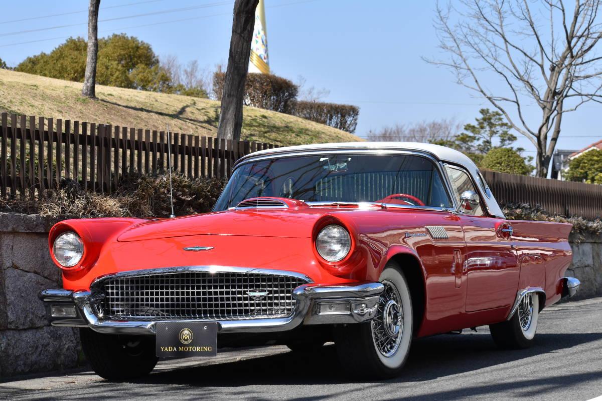 【奇跡の1台】 1957y フォード サンダーバード 初代 フルレストア車両! 直接現地仕入れ! 登録渡し可能! _画像2
