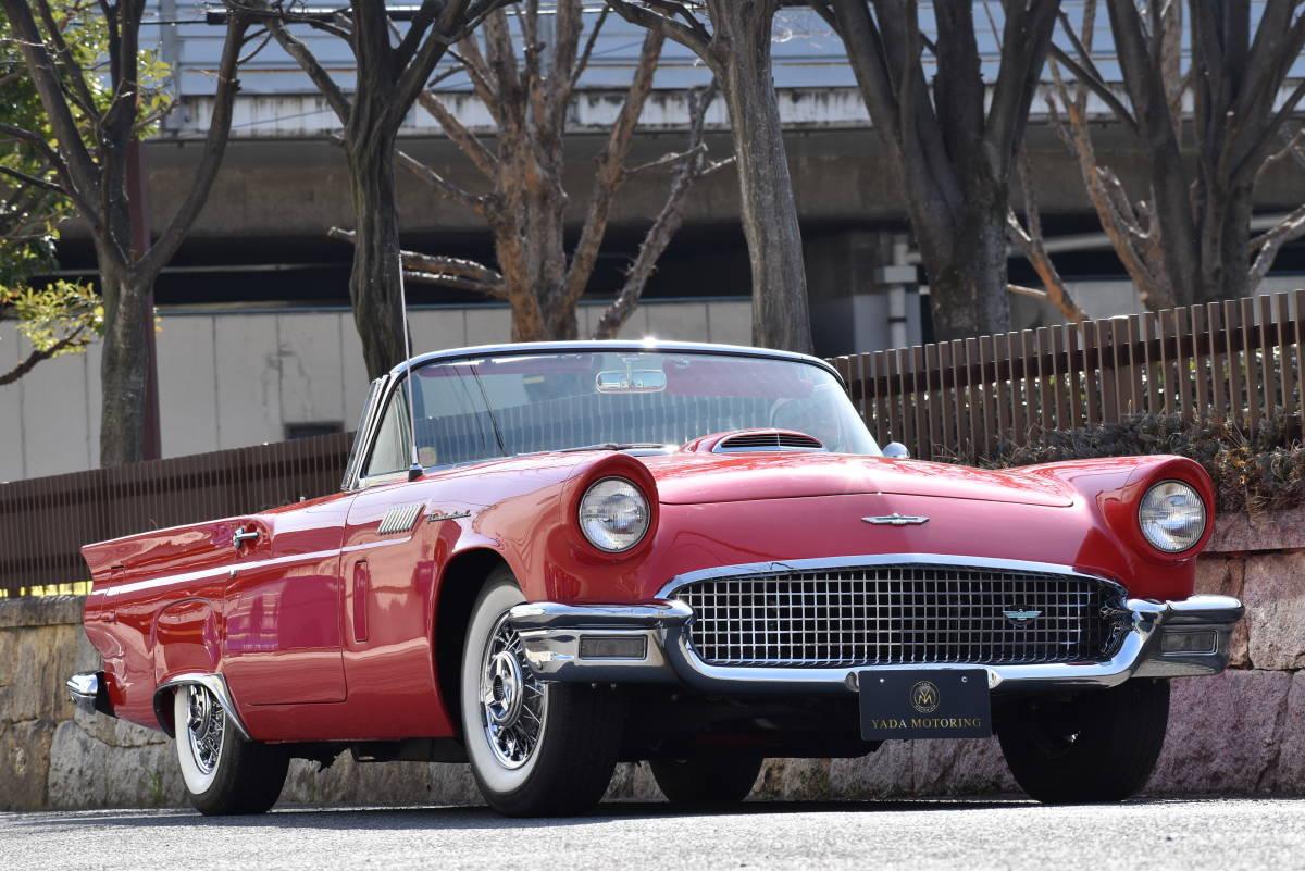 【奇跡の1台】 1957y フォード サンダーバード 初代 フルレストア車両! 直接現地仕入れ! 登録渡し可能! _画像3