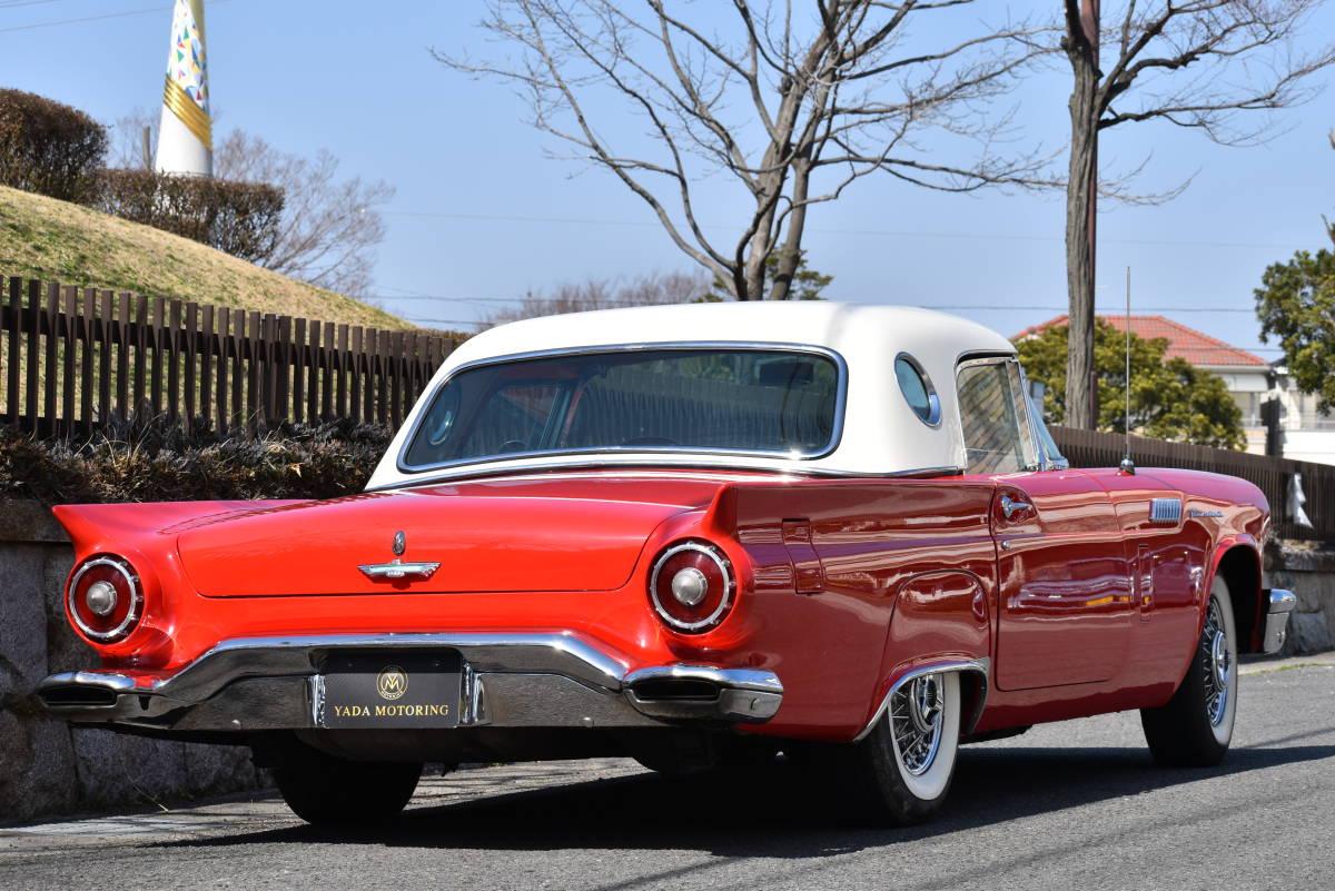 【奇跡の1台】 1957y フォード サンダーバード 初代 フルレストア車両! 直接現地仕入れ! 登録渡し可能! _画像4