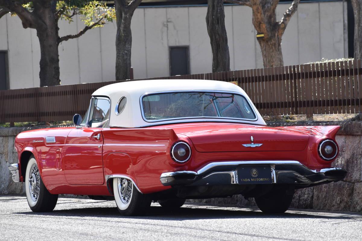 【奇跡の1台】 1957y フォード サンダーバード 初代 フルレストア車両! 直接現地仕入れ! 登録渡し可能! _画像5