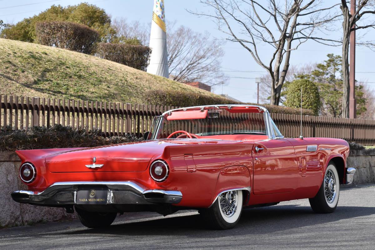 【奇跡の1台】 1957y フォード サンダーバード 初代 フルレストア車両! 直接現地仕入れ! 登録渡し可能! _画像7