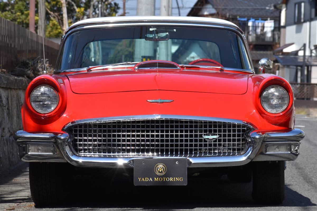 【奇跡の1台】 1957y フォード サンダーバード 初代 フルレストア車両! 直接現地仕入れ! 登録渡し可能! _画像6