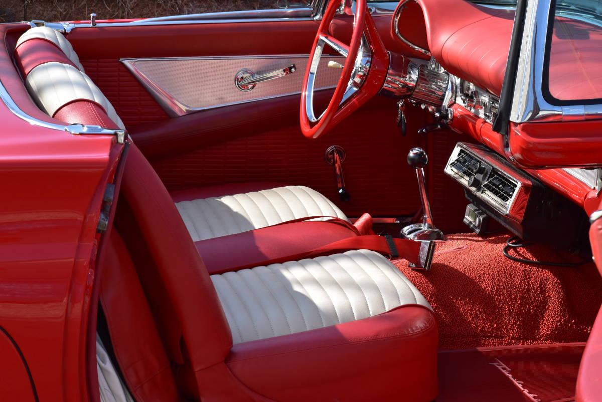 【奇跡の1台】 1957y フォード サンダーバード 初代 フルレストア車両! 直接現地仕入れ! 登録渡し可能! _画像8