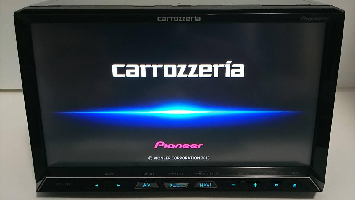 HDDサイバーナビZH07・2013年版・VGA・地デジ一式新品付属☆4×4フルセグ内臓・18倍速録音再生・DVD・USB・オービス入り・動作保証☆_画像2