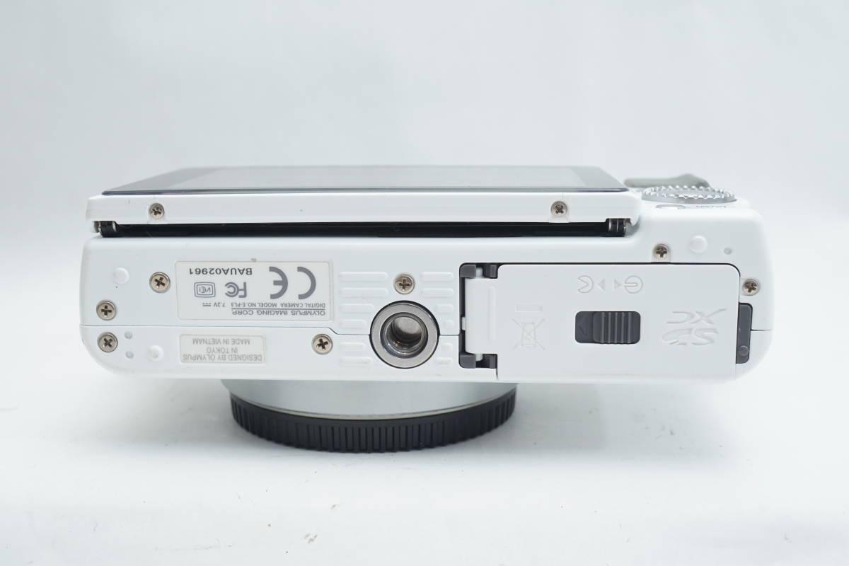 ★極上品★ OLYMPUS E-PL3 ボディ オリンパス PEN ミラーレスカメラ ホワイト マイクロフォーサーズ_画像6