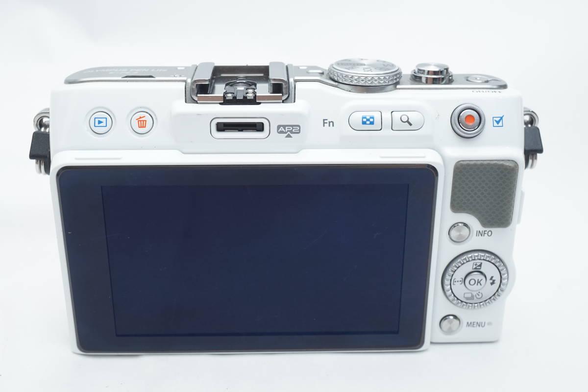 ★極上品★ OLYMPUS E-PL3 ボディ オリンパス PEN ミラーレスカメラ ホワイト マイクロフォーサーズ_画像3