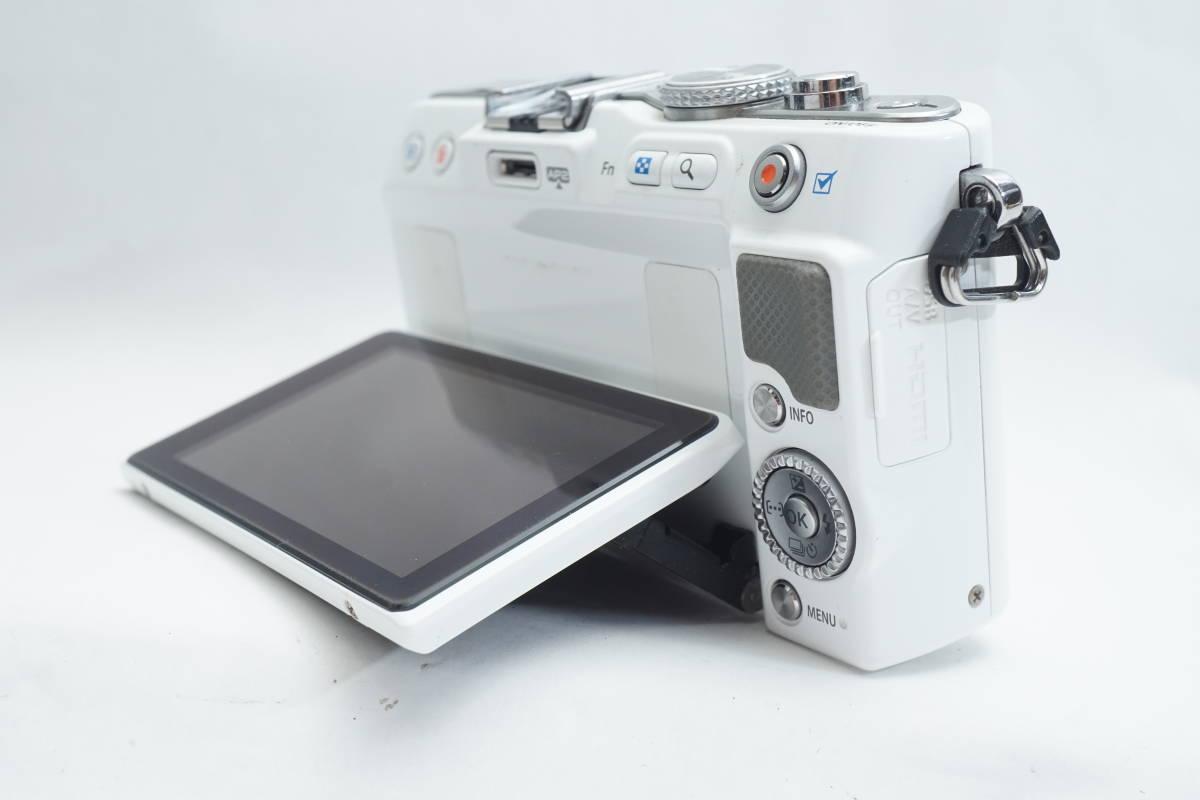★極上品★ OLYMPUS E-PL3 ボディ オリンパス PEN ミラーレスカメラ ホワイト マイクロフォーサーズ_画像8