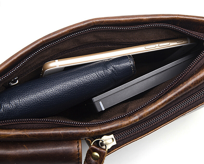 【超高級定価36万円】牛革 本革 鞄 ビンテージ メンズ ショルダーバッグ 斜め掛け ヌメ革 iPad対応 _画像4