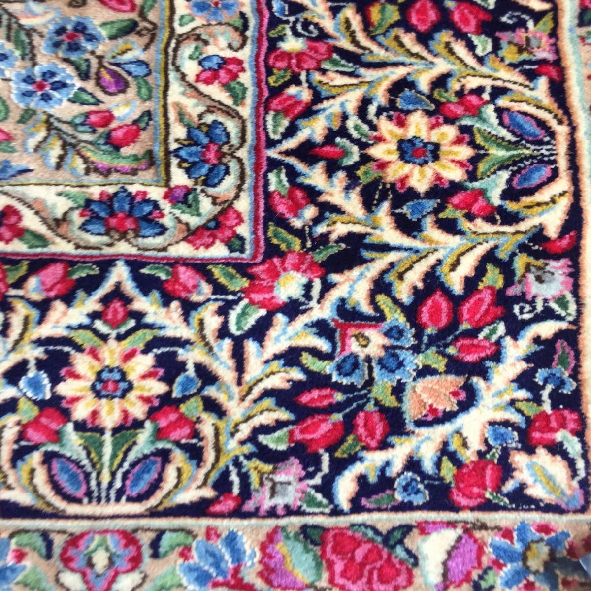 ペルシャ絨毯 ケルマン イラン 150×230cm MUSEO ウール100%_画像6