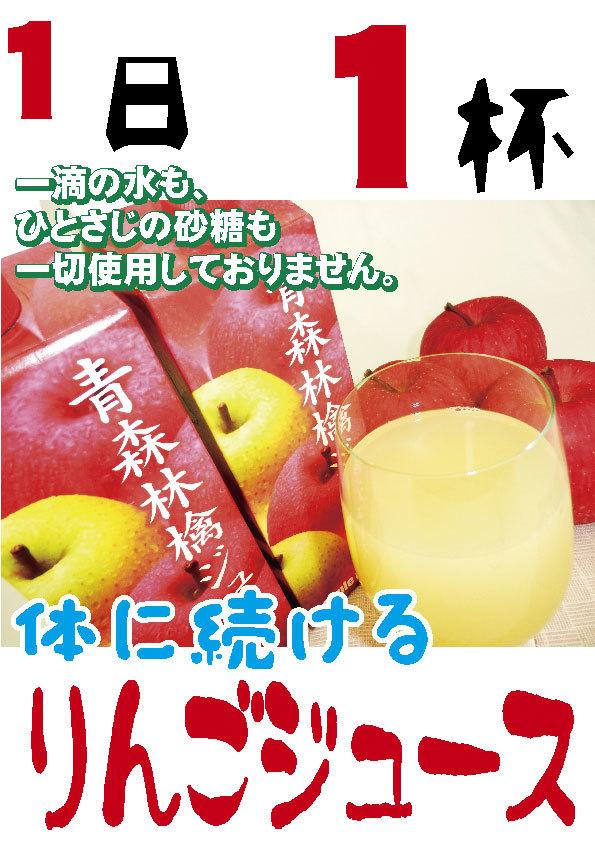 果汁100%りんごジュース1L(1000ml)紙パック3本入_画像3