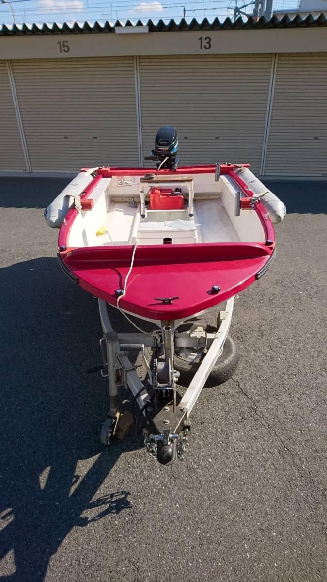 リトルボート フェニックス ・シープロ15ps・ モナドアルミトレーラーセット_画像1