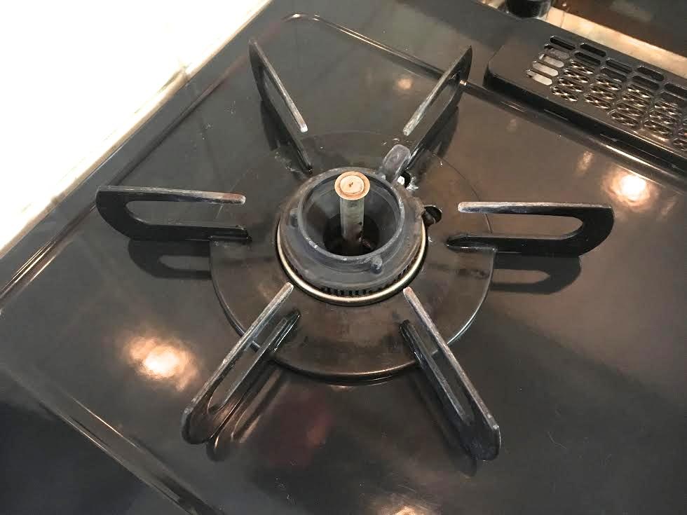 【パロマ】ガステーブル IC-800B-R 動作済_画像6