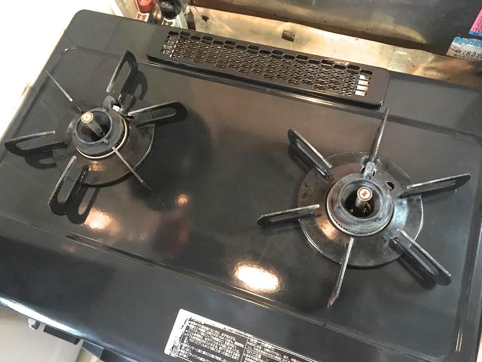 【パロマ】ガステーブル IC-800B-R 動作済_画像5